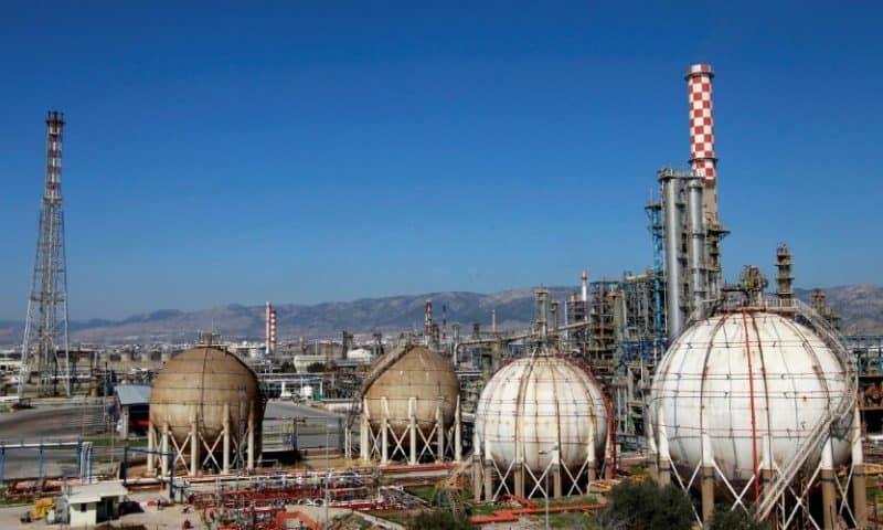 Hellenic Petroleum sees 2018 EBITDA topping 1 billion euros: CEO