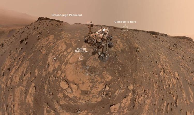 NASA news: Curiosity rover snaps a breathtaking selfie on Mars – 360-degree panorama